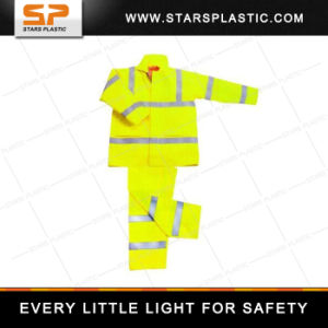 RV-A73-570 Classic Yellow Raincoat Yellow Toddler Raincoat Safety Vest pictures & photos