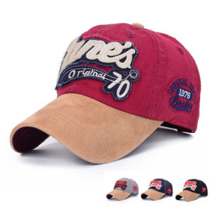 Fashion Patch Embroidered Cotton Twill Baseball Cap (YKY3047) pictures & photos