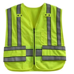 Traffic Safety Vest, Hook & Loop on The Waist, Meet En pictures & photos