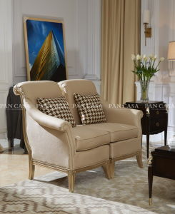 High Quality Classical Wooden Furniture Living Room Sofa (MS-B6025A)