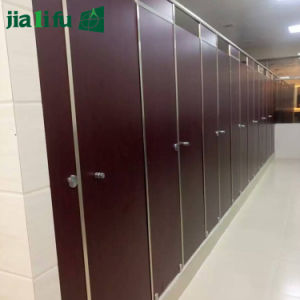 Fireproof Compact HPL Panel Toilet Partition for Office pictures & photos