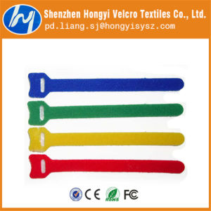 Reusable Hook & Loop Velcro Ring for Wire/Cable Tie pictures & photos