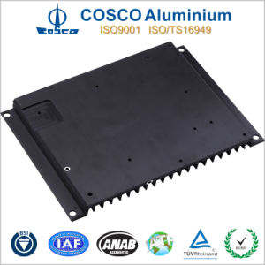 Customized Aluminum Profile for Heat Sink with Black Anodizing pictures & photos