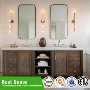 Solid Wood Classic Bathroom Vanity pictures & photos