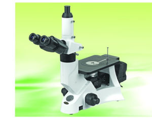 Inverted Metallurgical Microscope Nim-100 Trinocular Head pictures & photos