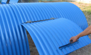 Stainless-Steel Plate Rain Cover for Belt Conveyor pictures & photos