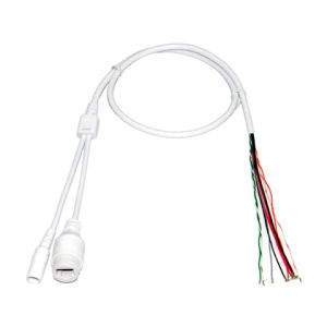 RJ45 + DC IP Camera Waterproof Tail Cable 6t002 Without Lights
