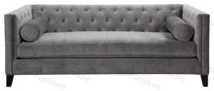 Transitional Cafe Wooden Frame Cushion Sofa for Hotel Furniture (JP-sf-133)
