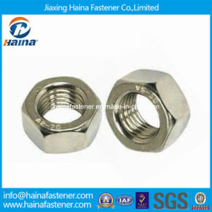 Stainless Steel A2-70 Hex Nut ISO4032 ISO4033 DIN934 in Stock pictures & photos