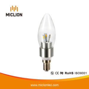 3W E27 E14 LED Bulb Lamp with Candle pictures & photos