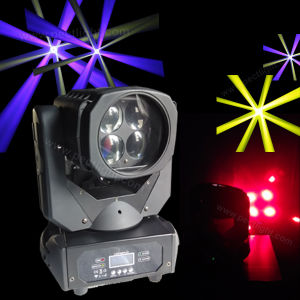 4PCS 25W LED Moving Head Wash Zoom Light pictures & photos