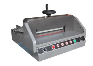 Table Paper Cutting Machine (YD-3304E) pictures & photos