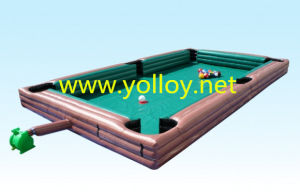 Inflatable Human Billiards Interactive Games for Kids and Adult pictures & photos