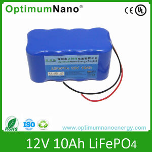 Lithium Ion 12V 10ah Rechargeable Battery Pack pictures & photos