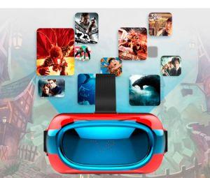 Customized Logo 3D Vr Glasses Google Cardboard Vr Box with Andorid 5.1 1+8GB Quad Core Rk3126 Vr Box 1280*720p