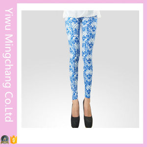 OEM Summer Trendy Printing Lady′s Tights (20263-3) pictures & photos