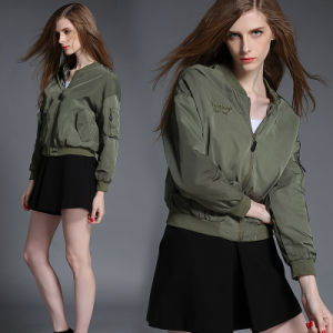 Hot Sale Europe Style Motorcycle Jacket for Women pictures & photos