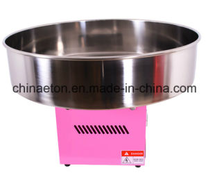 Electric Candy Floss Machine in Red Color with 720mm Diamater pictures & photos