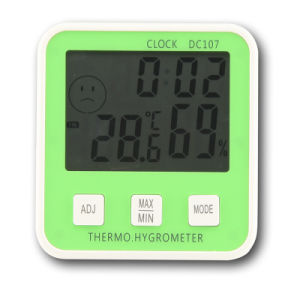 LCD Thermometer for Room Temperature Digital pictures & photos
