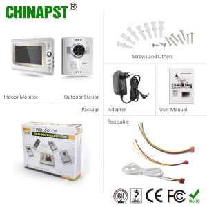 2017 Newest Door Station Monitor Color Villa Wired Video Doorphone Intercom (PST-VD906C) pictures & photos