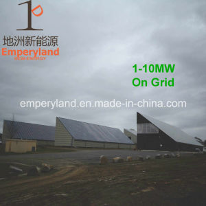 Roof Top on-Grid System Solar Power Station pictures & photos
