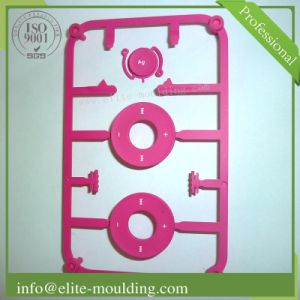 ABS+PC Plastic Injection Parts and Moulds for Buttons
