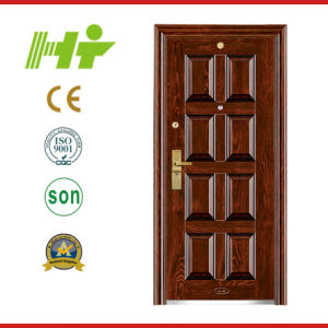 Steel Security Door with Modern and Attractive Surface (HT-49)
