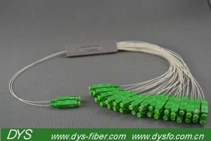 2 X 32 PLC Sc / APC Optical Fiber Splitter pictures & photos