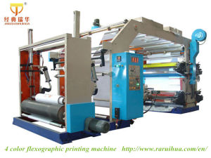 High Speed and High Quality Flexo Printing Machine pictures & photos