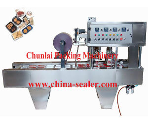 Bg Automatic Plastic Tray Sealing Machine pictures & photos