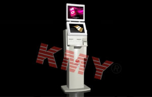 Outdoor Free Standing Digital Signage Kiosk with Card Dispenser pictures & photos