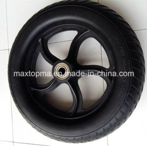 325-8 Solid Flat Free PU Foam Wheel pictures & photos