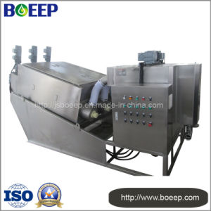 Volute Sludge Dewatering Machine for Marine Sewage Treatment Plant pictures & photos