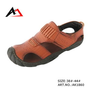 Sandal Leather Shoes Comfort Summer Beach Footwear for Men (AK1860) pictures & photos