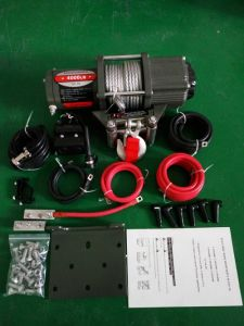High Performance 12V 4000lb Winch for ATV Adverture Recovery pictures & photos