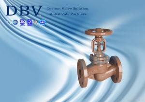 Ce Casting Wcb Bellows Sealing Globe Valve