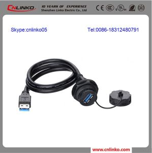 Waterproof High Performance Engineer Plastic USB 3.0 Connector pictures & photos