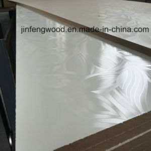 Warm White Special Finished Melamine MDF 18mm pictures & photos