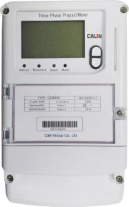 Three Phase Sts IC Card Prepaid Energy Meter pictures & photos