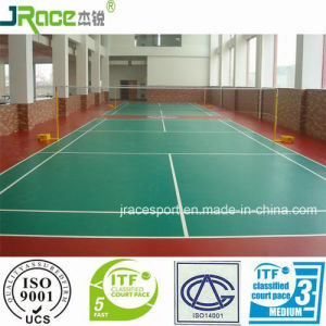 Synthetic Badminton Surface Suitable for College pictures & photos