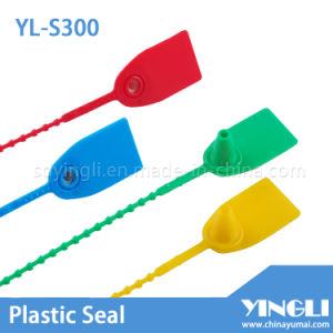 Disposable Customized Plastic Tag Seal (YL-S300) pictures & photos