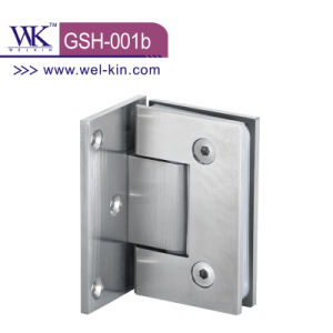 Inox 304 Pss 5mm Solid 90 Shower Offset Glass Hinge (GSH-001b)