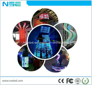 Wholesales Best Price HD P4 Indoor Soft Full Color Transparent LED Flexible Display Screen pictures & photos