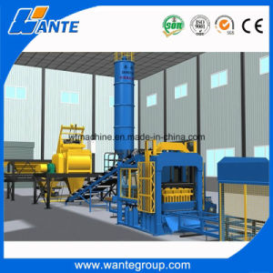 Wante Brand Block Making Machine Hollow Block Machine in Myanmar pictures & photos
