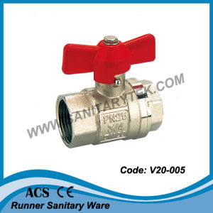 Female Brass Ball Valve (V20-005) pictures & photos