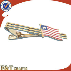 Wholesale Custom American Flag Craft Metal Tie Bar (FTTB2600A) pictures & photos