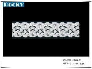 Flower Pattern Lace Trim for Lady Dress