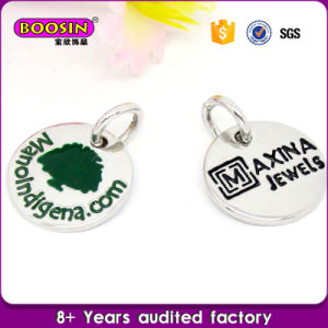 Wholesale Cheap Triangle Alloy Jewellery Engraved Name Tag Charm pictures & photos