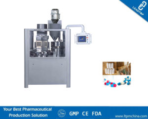 Njp-400 Powder Filling Fully Automatic Gelatin Capsule Filling Machines/Capsule Machines with Capsule Locking pictures & photos