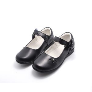 High Quality Classic Leather Shoes Student Shoes Dress Shoes (FF624-1) pictures & photos